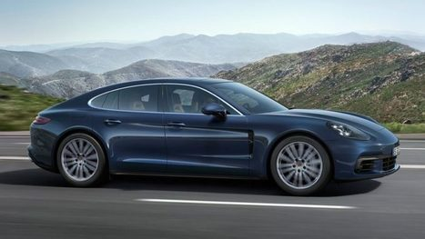 Porsche Unveiles 2017 Panamera Turbo With Fresh Look [Video] | Technology | Scoop.it