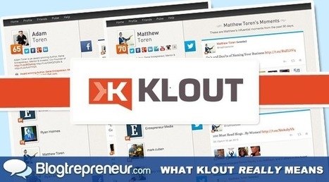 What Klout Really Means and the Future of Social Media Influence | Social Media Marketing in Music | Scoop.it