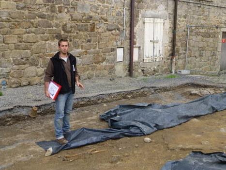 La Chaise-Dieu (43) : une visite des fouilles archéologiques du chantier de l'abbatiale | HADES - Archéologie | Scoop.it