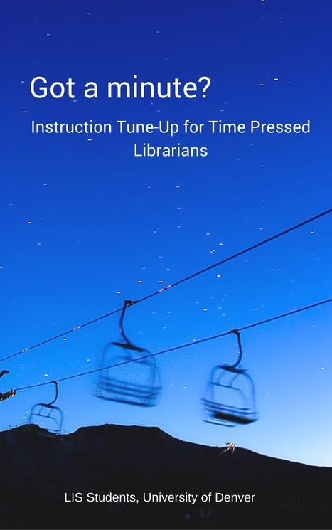 Information literacy for librarians- free e-book | Educommunication | Scoop.it