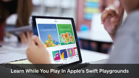 Coding With Swift Playgrounds: Apple Catches Them Young - Openxcell   Latest Technology Trends   Scoop.it
