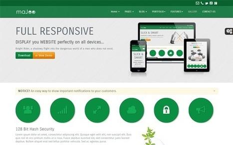 Majoo Business Template Download | PremiumTemplatesDownload | Webdesign | Scoop.it