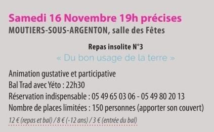 SSI 2013 Repas insolite à Moutiers Sous Argenton - Le blog de ...   Moutiers city   Scoop.it
