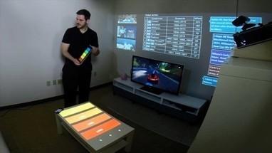 Microsoft SurroundWeb : réalité augmentée et domotique en projection dans la maison | Technologie et Innovation | Domotique, Votre maison connectée | Scoop.it