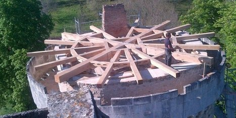 Dordogne : un important chantier de rénovation au château de Laxion - Sud Ouest | dordogne - perigord | Scoop.it