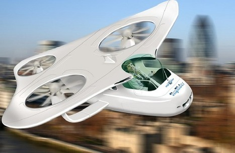 Researchers want you to change your car for a mini-helicopter | Daily Crew | Scoop.it