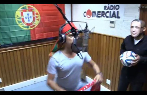Ricardo Araújo Pereira, Nuno Markl e Vasco Palmeirim num hino por Portugal | Bola e craques | Scoop.it
