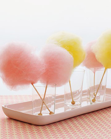 Pink and Yellow Cotton Candy | Candy Buffet Weddings, Events, Food Station Buffets and Tea Parties | Scoop.it
