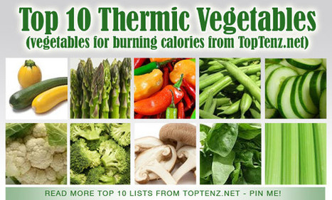 Thermic Vegetables for Burning Calories more Calories Than You Eat - TopTenz.net   Weight loss   Scoop.it