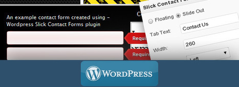 20 Free Contact Form Plugins for WordPress | Web Design & Development | Scoop.it