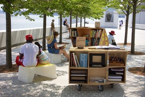 Quand les livres se promènent dans la ville | Total Visits 0 | La part du colibri | Bibliothèques et Cie | Scoop.it