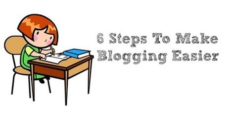 6 Steps To Make Blogging Easier | Successful Blogging | Scoop.it