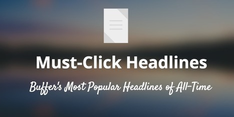 How to Write a Headline That Keeps on Earning Clicks | Public Relations & Social Media Insight | Scoop.it