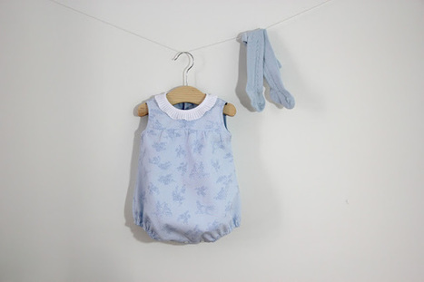 DIY, patrones, ropa de bebe y mucho más para coser.: DIY Tutorial y patrones gratis: Pelele para bebé | Tejidos | Scoop.it