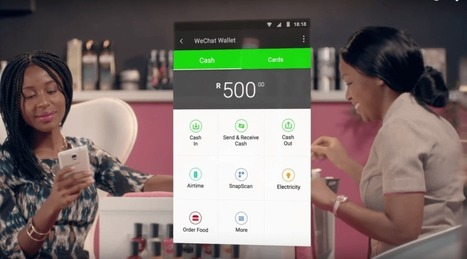 WeChat launches its peer-to-peer mobile wallet in South Africa, no bank accountrequired   WeChat   Scoop.it