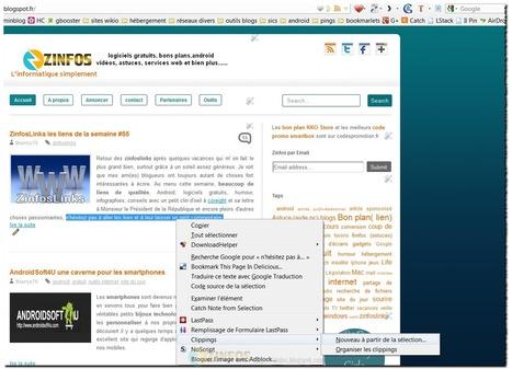 Clippings pour Firefox votre partenaire du copier-coller | Le Top des Applications Web et Logiciels Gratuits | Scoop.it