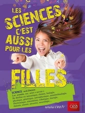 Scientifique, toi aussi ! Supports pédagogiques du CEA | Les Femmes de Génie sont rares ? | Scoop.it