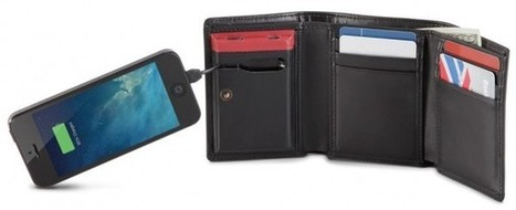 Smartphone Charging Wallet - The Red Ferret Journal | Portable Phone Charger | Scoop.it