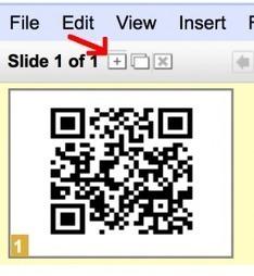 Using Google Presentation to Create Multiple QR Codes | Teacher Tech | Edtech PK-12 | Scoop.it
