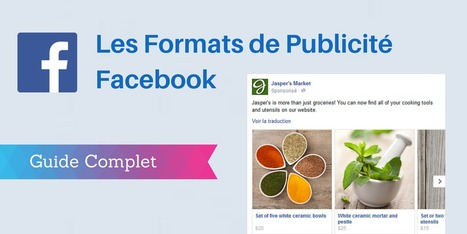 Publicité sur Facebook : le Guide Complet | TPE-PME | Scoop.it