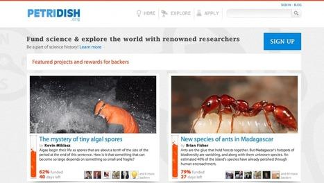 Petridish: Science funding | Citizen Science | Scoop.it
