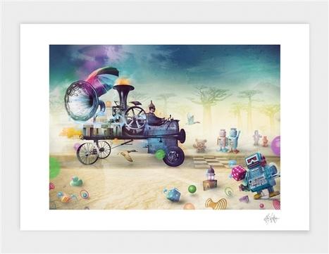 Mr.Xerty - Art Print | Curioos | délégation e-commerce | Scoop.it