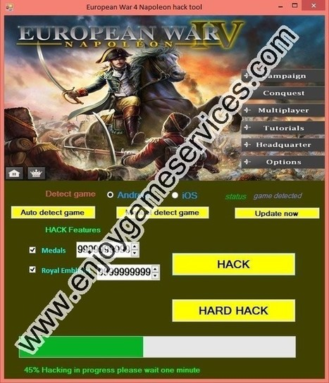 European War 4: Napoleon hack | game | Scoop.it