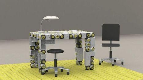 Roombots : bienvenue dans l'ère des meubles robotisés - Génération NT | Déco Design | Scoop.it