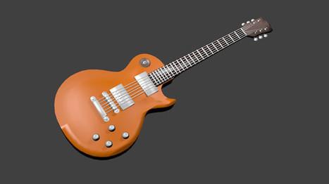 3d les guitar model   Tune Town Talk   Scoop.it