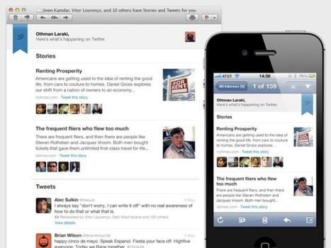Twitter : les meilleurs tweets de la semaine dans une newsletter | finger food | Scoop.it