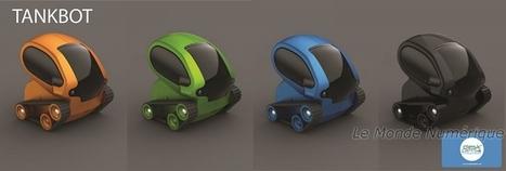 Tankbot, le mini robot contrôlable par un Smartphone Robotique jouet   Des robots et des drones   Scoop.it