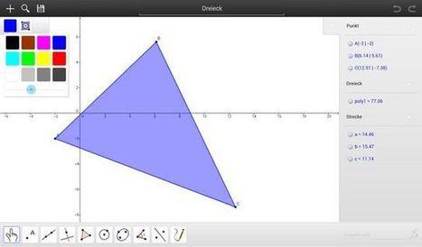 GeoGebra, el software de gráficas matemáticas ahora para iOS y Android | Matematica con geogebra | Scoop.it