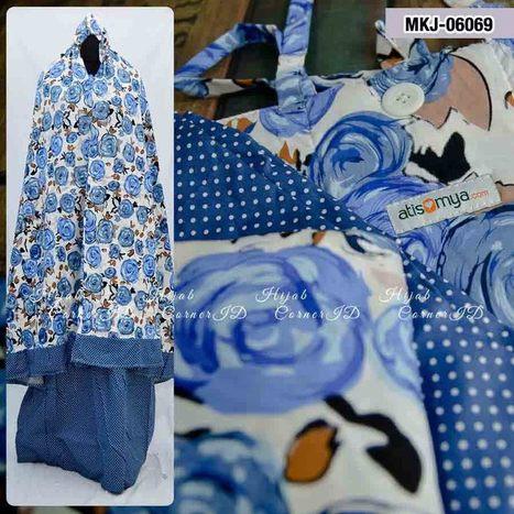 Mukena Katun Jepang MKJ-06069 | Atisomya Hijab | Scoop.it