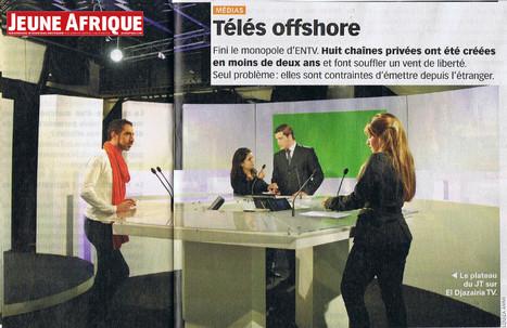 Algérie: Télés offshore | DocPresseESJ | Scoop.it