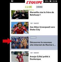 Quand le FN s'invite dans le chrono de lequipe.fr | DocPresseESJ | Scoop.it