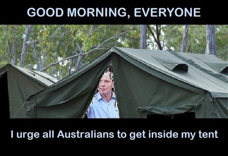 Inside Tony's tent | Underground News Australia | Scoop.it