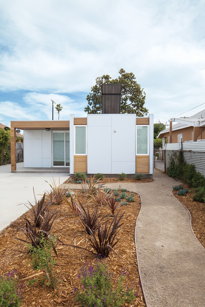 An Innovative Net-Zero Prefab in Los Angeles | sustainable architecture | Scoop.it