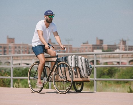 haul large packages and surfboards with the horse sidecar bicycle | laurent | Scoop.it