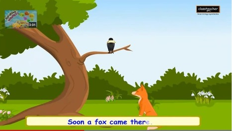 The Fox and Crow Story for Kids | Children's Tales in English | Educational Videos & Games for Kids | Scoop.it