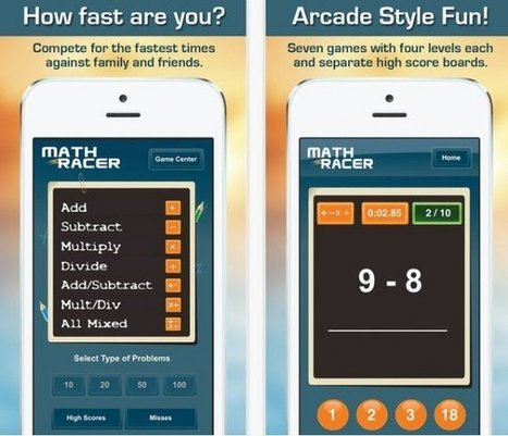 5 Math Apps for Math Averse Students | Apps for Tap-Swipe-Pinch | Scoop.it