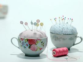 Manualidades y Artesanías | Alfileteros con tazas | Utilisima.com | Con tus propias manos - Lola | Scoop.it