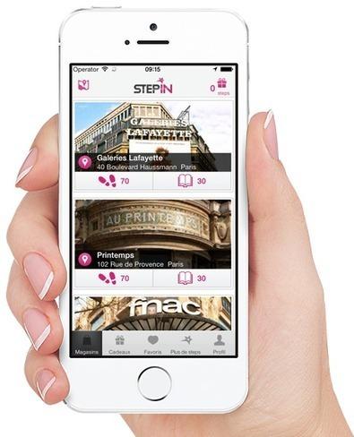 Application mobile de bons plans et promotions dans les magasins de proximité - STEP-IN   Travel & Innovation   Scoop.it
