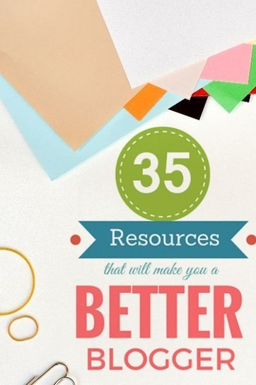 LikeCubed: 35 Resources That Will Make You a Better Blogger | Public Relations & Social Media Insight | Scoop.it