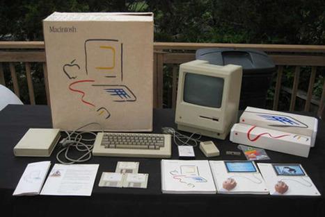 Unboxing a 30-year-old Macintosh 128K | Macworld | Bring back UK Design & Technology | Scoop.it