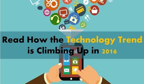 Read the Top 5 Latest Technology Trend for the Year 2016 | iphone application development | Scoop.it
