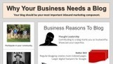 Why Your Business Needs a Blog [INFOGRAPHIC] | Social Media Today | entrepeneurs | Scoop.it