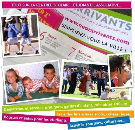Pour tout savoir sur la rentrée 2013-2014 ! | Changer de ville - nouvel arrivant, newcomer. | Scoop.it