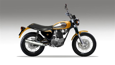 B450 Scrambler by Borile | Ductalk Ducati News | Scoop.it