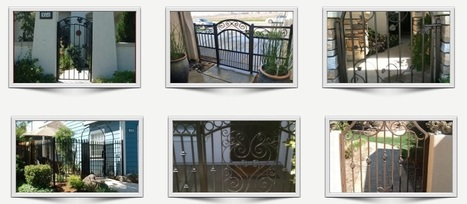 Iron Entry Gates – Extensive Designs and High Quality | Ornamental Iron | Wrought iron fencing | Driveway gate | Scoop.it
