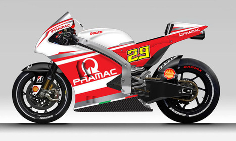 The Ducati Pramac MotoGP unveiled on Facebook | Ductalk Ducati News | Scoop.it